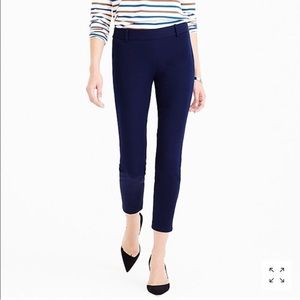 J. Crew Winnie City Fit Pant In Navy Blue